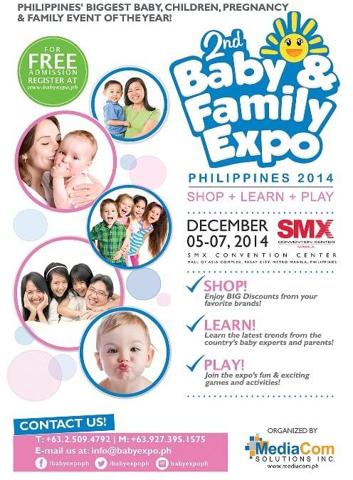 20,00 Visitors are getting ready to Shop+Learn+Play at the Baby & Family Expo 2014