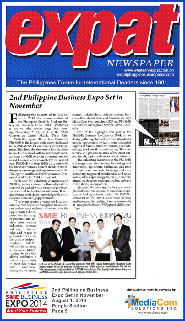 business newspaper