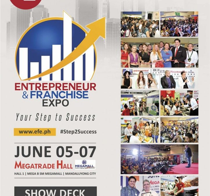 Take Your Step 2 Success at the 2nd Entrepreneur and Franchise Expo this June 5-7, 2015