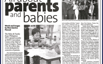 Manila Standard Today: All About Parents and Babies